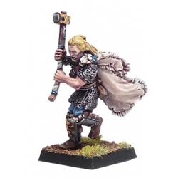 Warrior with hammer