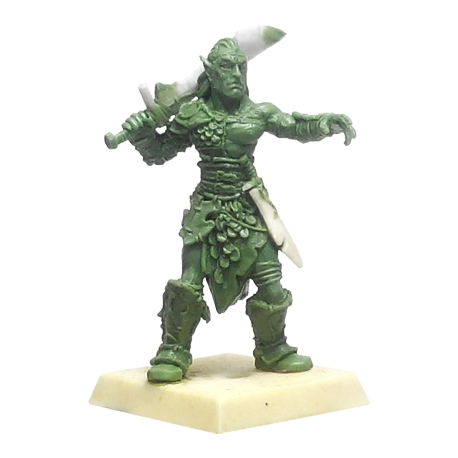 Elf Warrior - GREEN