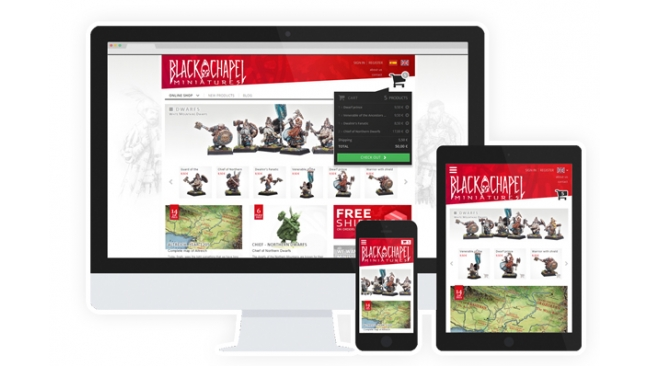 BlackChapel web becomes responsive