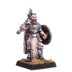 Veterano con escudo