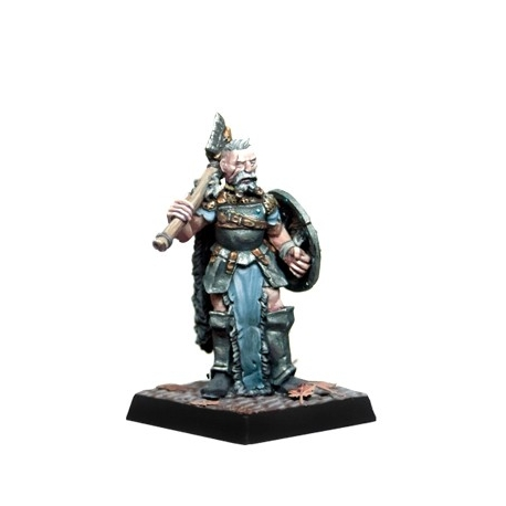 Veteran with shield - PAINTED