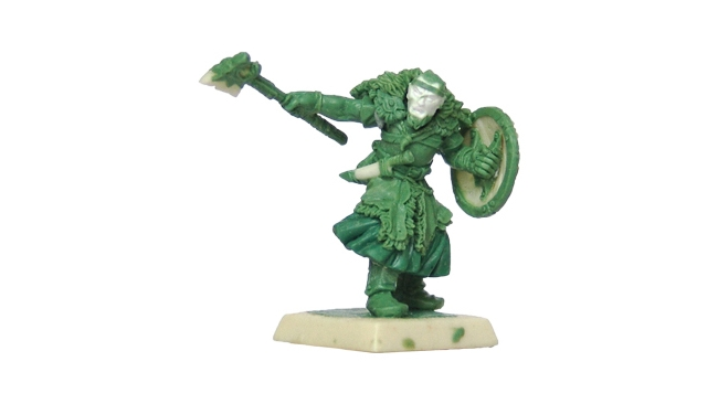 The preview of Monk with shield of Wulfland