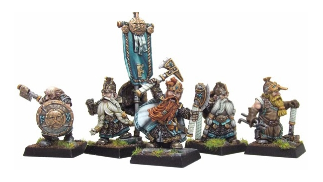 January (New miniatures) - DWARFS