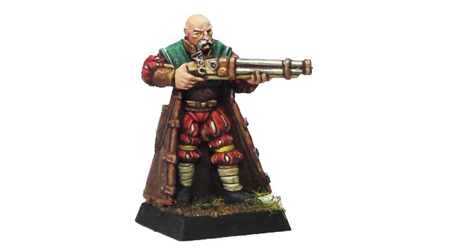 Engineer of Steamheim - PAINTED